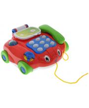Каталка Телефон на колесах со светом и звуком