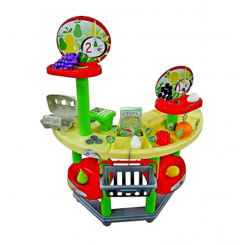 Игрушки, Игровой набор Супермаркет Полесье 650060, фото