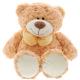 Игрушки, Медведь с бантом 39 см PLUSH APPLE 576229, фото 1