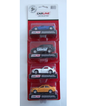 Машина 1:64 металлическая в ассортименте Carline