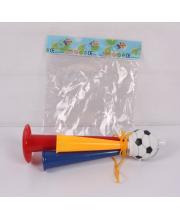 Труба с мячом тройная 23 см S+S Toys