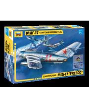 Сборная модель Советский истребитель Миг-17 ZVEZDA