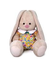 Мягкая игрушка Зайка Ми в комбинезоне с воротничком 23 см BUDI BASA