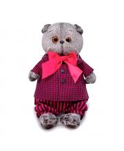 Мягкая игрушка Басик в рубашке и штанах 25 см BUDI BASA
