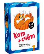 Настольная игра Кот и счёт Brainy Games