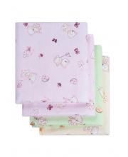 Пеленки для новорожденных фланелевые Дочке Чудо-Чадо