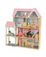 Кукольный домик Особняк Лола с мебелью 30 элементов KidKraft