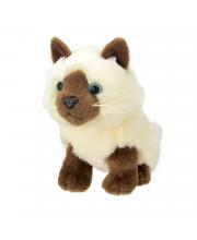 Мягкая игрушка Сиамская кошка 20 см All About Nature