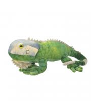 Мягкая игрушка Зелёная игуана 25 см All About Nature