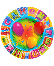 Набор тарелок Мозаика 17 см 6 шт Веселая Затея