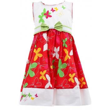 Девочки, Платье LP Collection (красный)000461, фото