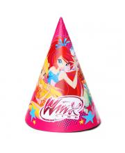 Набор колпаков Winx 6 шт Веселый Праздник