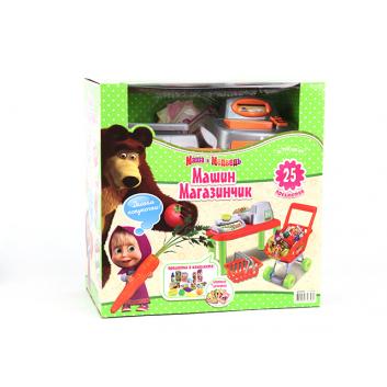 Игрушки, Набор Машин магазинчик с продуктами Затейники 573746, фото