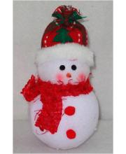 Снеговик 13 см Фабрика Деда Мороза