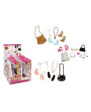 Набор обуви и сумочек Серия Игра с модой в ассортименте Mattel