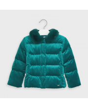 Куртка с воротником для девочки MAYORAL
