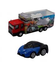 Набор грузовик и машинка die cast Funky Toys