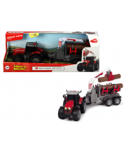 Трактор с прицепом Massey Ferguson 42 см Dickie Toys