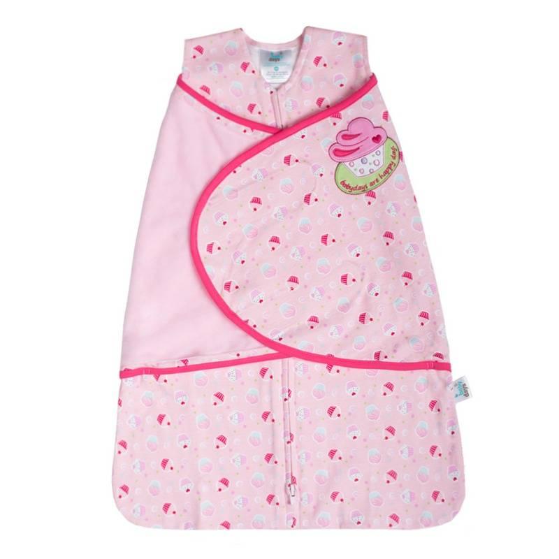 Спальный конвертСпальный конвертрозовогоцвета марки Babydays для девочек.<br>Спальный конверт Angel Enveloper Swaddle на молнии и липучке - это простой и безопасный способ укрывать и пеленать малыша. Модель спроектирована с учетом максимальной безопасности и комфорта, заменяя традиционные одеяльца, которые могут закрыть малышу лицо и затруднить дыхание. Безрукавный крой снижает риск перегрева. Свободная нижняя часть не сковывает движения, что важно для правильного развития тазобедренного сустава. Безопасная молния застёгивается сверху вниз, что делает удобным смену подгузников и не травмирует подбородок малыша. Модель спального конверта позволяет держать руки малыша как внутри, так и снаружи. Два способа пеленания малыша показаны на инструкции по использованию. Качественный трикотаж (плотность 210 гр/м). Материал не растягивается и не линяет после стирки, хорошо впитывает влагу, позволяет коже дышать. Трикотажное полотно интерлочного переплетения.<br>Рекомендуемая стирка при 30С, гладить при умеренной температуре.<br><br>Размер: 0 месяцев<br>Цвет: Розовый<br>Рост: 36-48<br>Пол: Для девочки<br>Артикул: 652031<br>Бренд: Россия<br>Страна производитель: Китай<br>Сезон: Всесезонный<br>Состав: 100% Хлопок