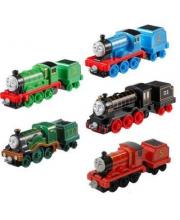 Паровозик с вагоном в ассортименте Mattel
