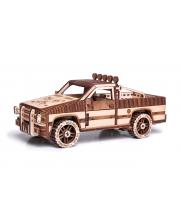 Механический 3D пазл Пикап Wood Trick