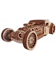 Механический 3D пазл Хот Род Wood Trick