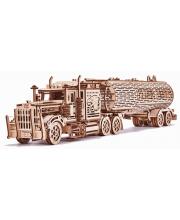 Механический 3D пазл Биг Риг Цистерна Wood Trick