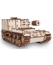 Конструктор 3D Танк САУ 212 Eco Wood Art