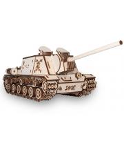 Конструктор 3D Танк ИСУ 152 Eco Wood Art