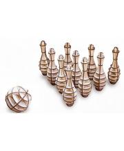 Конструктор 3D Боулинг Мини Eco Wood Art