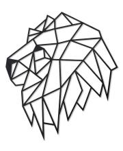 Интерьерный пазл Design Голова льва Eco Wood Art
