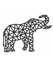 Интерьерный пазл Design Слон Eco Wood Art