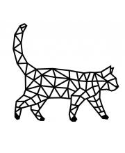 Интерьерный пазл Design Кошка Eco Wood Art