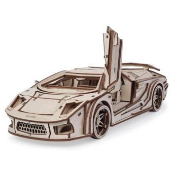 Игрушки, Конструктор 3D Спорткар Скат Lemmo 379894, фото