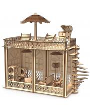 Кукольный дом Лофт с мебелью для кукол 30 см ХэппиДом