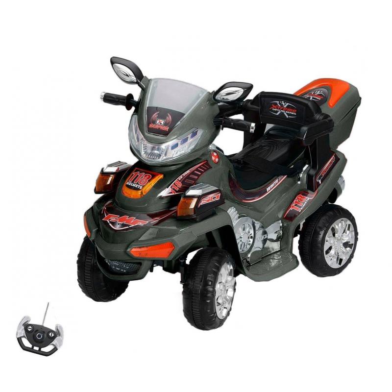 Электромотоцикл-квадрацикл от Nils