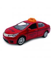 Коллекционная машинка красное такси инерционная Kaiyu