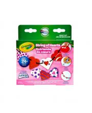 Набор застывающего пластилина Бусы из сердечек Crayola
