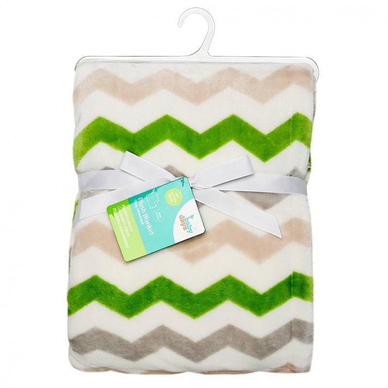 ПледПлед зеленогоцвета марки Babydays для малышей.<br>Каждому новорождённому необходимо создать тепло и уют. Для этих целей прекрасно подходит супер-мягкий плюшевый плед Babydays. Используйте плед для укрывания малыша во время сна или на прогулке в коляске. Плед изготовлен из двойного материала: с лицевой стороны – плюшевое полотно (плотность 300 гр/м), на обороте – шерпа (200 гр/м).<br>Размер: 76х101х1,5 см. Рекомендуемая стирка при 30С.<br><br>Цвет: Зеленый<br>Пол: Не указан<br>Артикул: 652080<br>Бренд: Россия<br>Страна производитель: Китай<br>Сезон: Всесезонный<br>Состав: 100% Полиэстер<br>Размер: Без размера