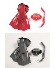 Плавательный набор Меридиан маска трубка ласты в ассортименте Bestway