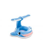 Надувной плот Веселый кит 99х86 см Intex