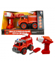 Конструктор Пожарный грузовик 18 см 1Toy