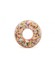 Надувной круг Пончик с присыпкой Intex