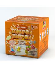 Набор для опытов Бомбочки шипучки круассан маффин пломбир Инновации для детей