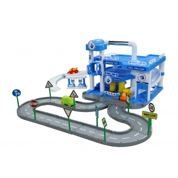 Игрушки, Конструктор Паркинг ARAL Wader 650223, фото