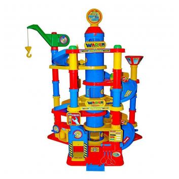 Игрушки, Конструктор Паркинг Parktower Wader 650233, фото