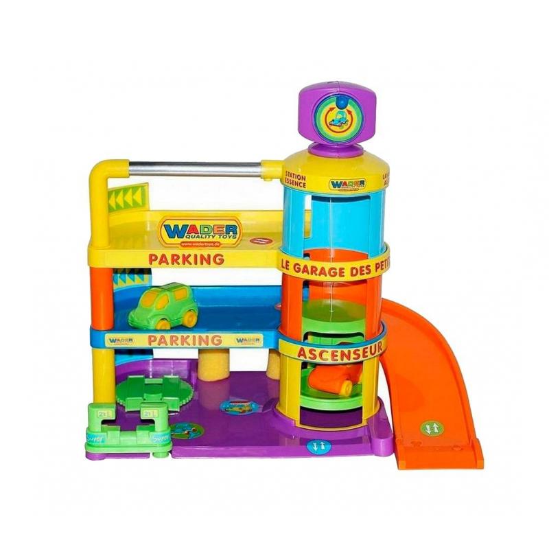 Wader Конструктор Паркинг Гараж Беби bambino land гараж парковка с лифтом вох 55х35х9см арт р3188а г28643