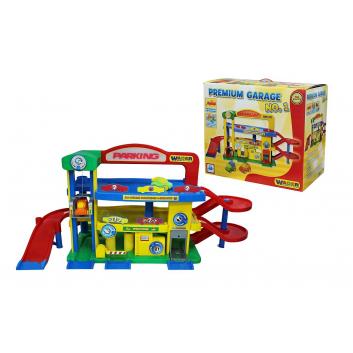 Игрушки, Конструктор Паркинг Гараж №1 Премиум Wader 650236, фото