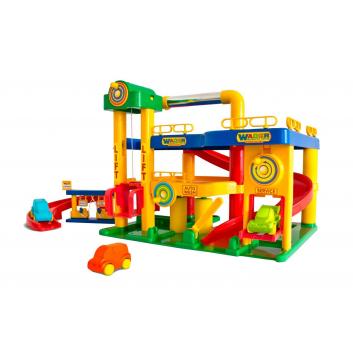 Игрушки, Конструктор Паркинг Гараж №1 Wader 650237, фото