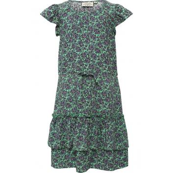Девочки, Платье Finn Flare (зеленый)646818, фото